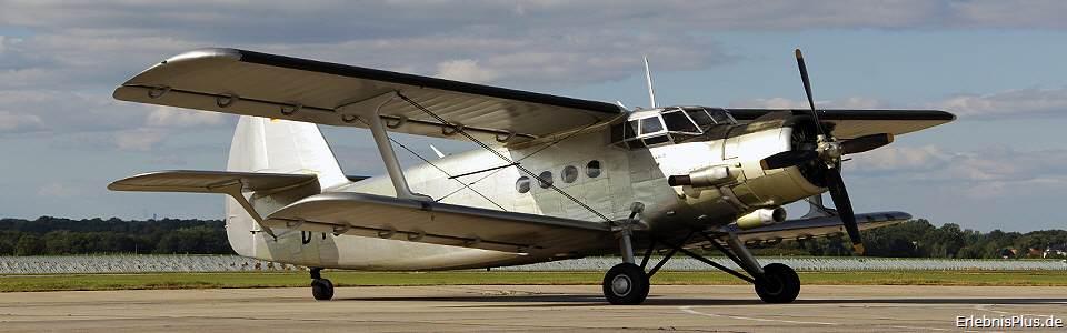 Oldtimer-Doppeldecker Antonov