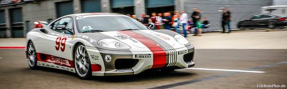 Ferrari auf dem Lausitzring