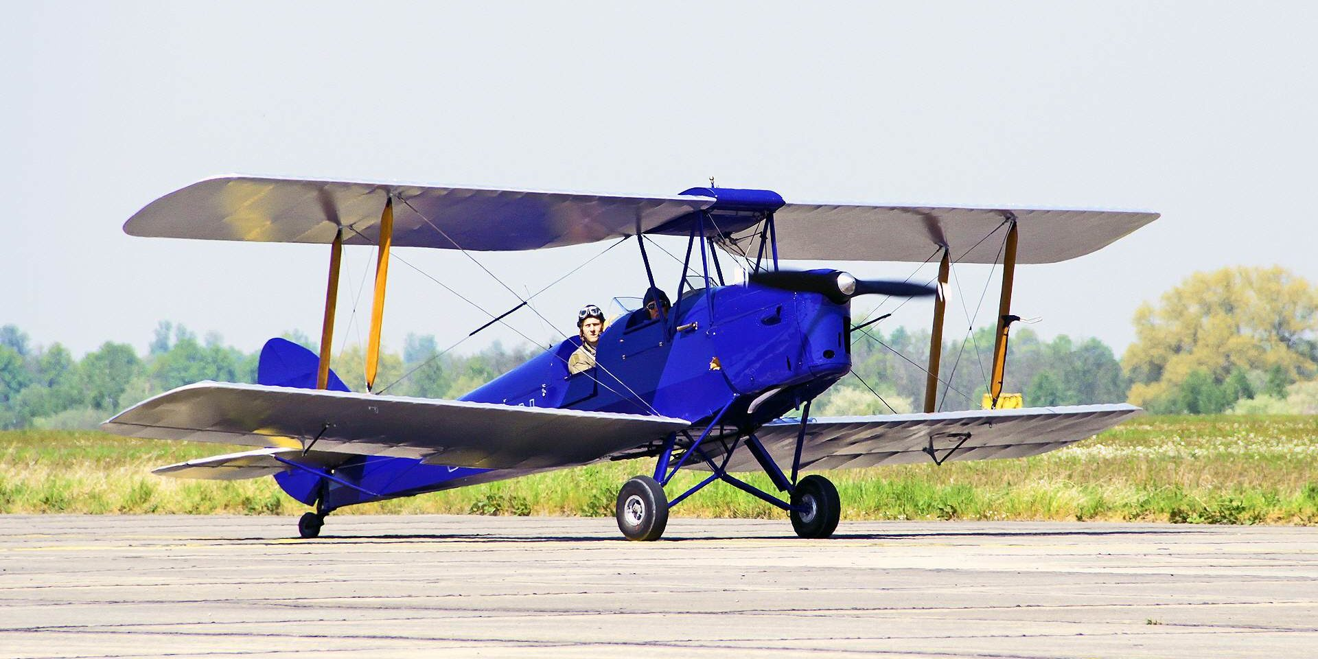 Tiger Moth Rundflug