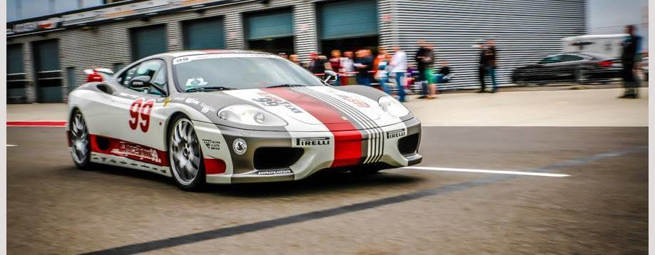 Ferrari F430 Rennstrecke