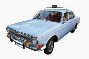 Oldtimer Wolga Taxi mieten Dresden