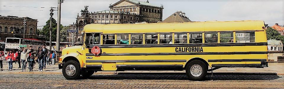 Amerikanischen Schulbus in Dresden mieten