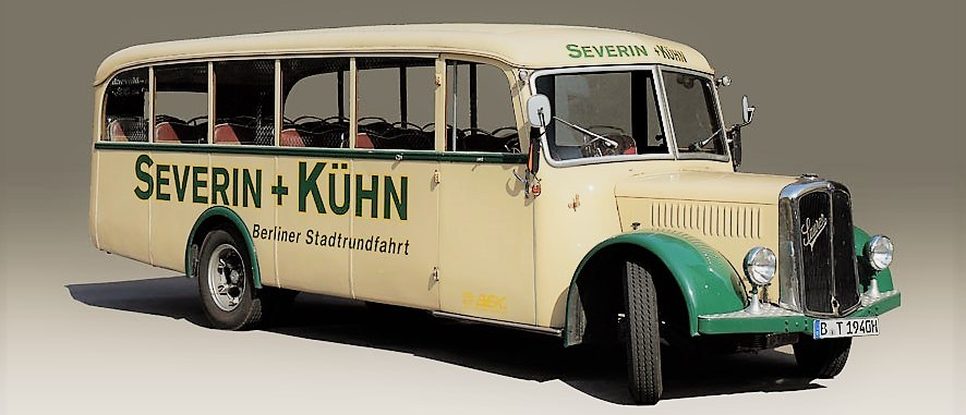 Oldtimerbus mieten Berlin