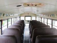 Amerikanischer Schulbus - Innenraum