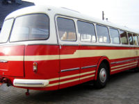 Oldtimerbus Skoda RTO - Heck