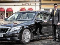 Mercedes S-Klasse mit Chauffeur mieten